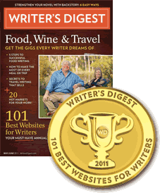 101 Best Websites for Writers Award